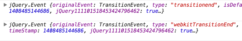 Detect the End of CSS Animations and Transitions with JavaScript